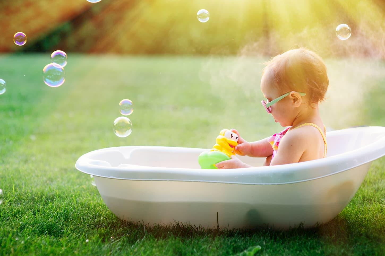 Top 5 des meilleurs livres de bain bébé