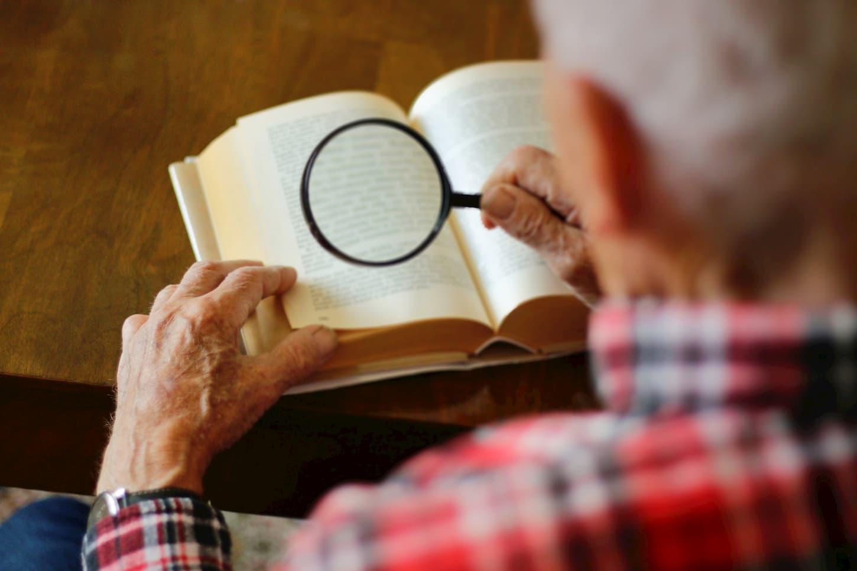 loupe de lecture